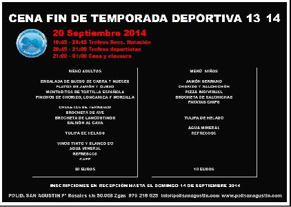 Noticia: GALA FIN DE TEMPORADA 13_14