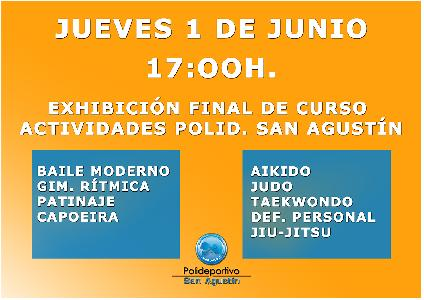 Noticia: EXHIBICIÓN FIN DE CURSO